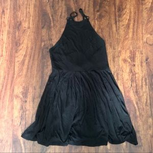 Urban Outfitters Black Dress with Cool Open Back